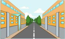 Fabrikgebäude Stockbilder