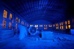 Fabriknachtblau Lizenzfreie Stockfotografie