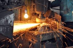 Fabrikpolierwerkstatt lizenzfreies stockfoto