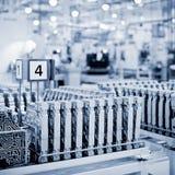 fabriksöverföringar Arkivfoto