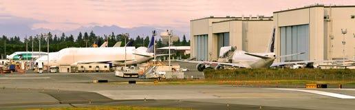 Fabriks- bransch för flygplan Royaltyfri Fotografi