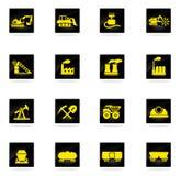 Fabriks- och branschsymboler Arkivfoton