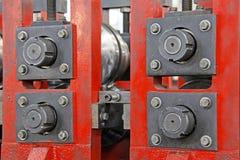 Fabriks- produktionutrustningsärdrag Arkivbilder