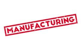 Fabriks- rubber stämpel Royaltyfri Foto