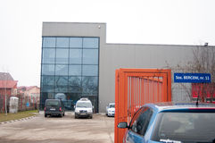 Fabriksbyggnad Royaltyfri Bild