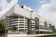 Fabriksbyggnaden Arkivfoton