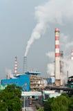 Fabriksförorening Arkivbilder