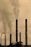 fabriksförorening Fotografering för Bildbyråer