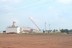 fabriksgas Arkivbild
