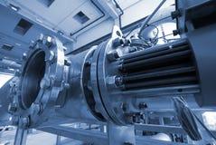 fabriksindustri pipelines stål Royaltyfria Foton