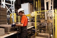 fabriksladdararbete Arkivbild