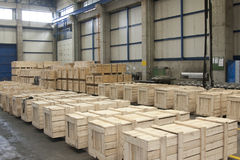 fabrikslager arkivbilder