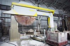fabriksmarmor Royaltyfri Fotografi