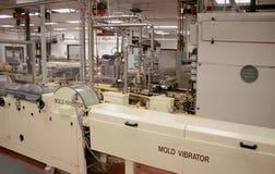 fabriksmaskineri Arkivfoto