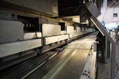 Fabriksmaskinerna i workflow på fabriken arkivbild