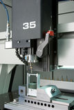 fabriksmaskinstöpning Royaltyfri Fotografi