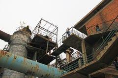 FabriksPeking Kina för 798 Art Zone Royaltyfri Bild