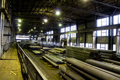 fabriksrör Arkivbild