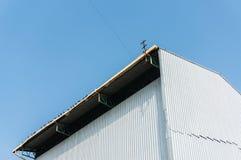 Fabrikstak och byggnad Royaltyfria Foton