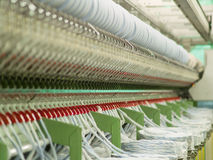 fabrikstextil Royaltyfria Foton