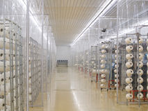 fabrikstextil Arkivbilder