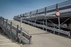 Fabrikstillverkad delarna till parkering Royaltyfria Bilder