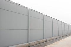 Fabrikstillverkat delarna till konkret staket royaltyfria bilder