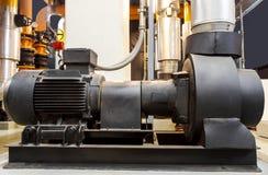 Fabriksutrustning, mer chiller pump Arkivfoto