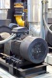 Fabriksutrustning, mer chiller pump Arkivbilder
