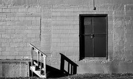 Fabriksvägg arkivbilder