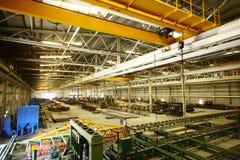 Fabrikwerkstatt stockbild