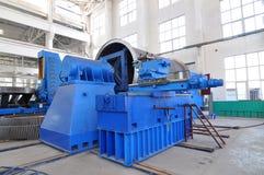 Fabrikwerkstattpanorama Stockfoto