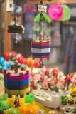 Fabriqué à la main mobile accrochant traditionnel thaïlandais Image libre de droits