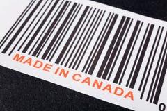 Fabriqué au Canada Photographie stock libre de droits