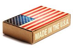 Fabriqué aux Etats-Unis Photographie stock libre de droits