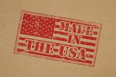 Fabriqué aux Etats-Unis Photographie stock