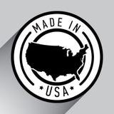 Fabriqué aux Etats-Unis Illustration de vecteur illustration de vecteur