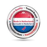 Fabriqué aux Pays-Bas, qualité de la meilleure qualité Photo libre de droits