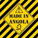 Fabriqué en Angola Photos stock