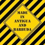 Fabriqué en Antigua-et-Barbuda Image libre de droits