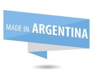 Fabriqué en Argentine Photographie stock