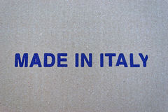 Fabriqué en Italie Photos stock