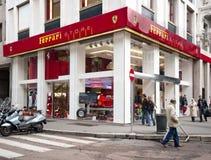 FABRIQUÉ EN ITALIE : Mémoire de Ferrari, Milan Photographie stock libre de droits