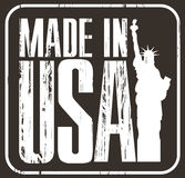 Fabriqué aux Etats-Unis Photos libres de droits