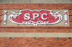 Fabrique de conserves de SPC Ardmona dans l'Australie de Shepparton Photos libres de droits