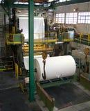 Fabrique de pâte à papier de papier et Images stock