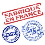 Fabrique En France Rubber Stamps Stock Image
