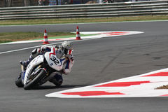 Fabrizio Lai - Honda CBR - Monza 2011 Royalty Free Stock Photography