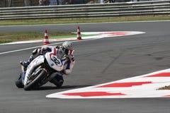 Fabrizio Lai - Honda CBR - Monza 2011 Fotografia Stock Libera da Diritti