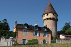 Fabry tower in Cluny city Stock Photography